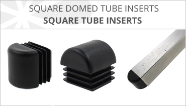 SQUARE DOMED RIBBED TUBE INSERTS